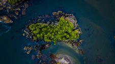 Free Bird S Eye View Photography Of Island Stock Image - 131201321