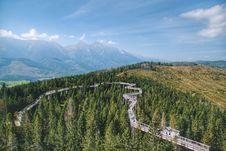 Free Bird Es Eye View Of Mountains Stock Images - 131330244
