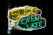 Free Yellow And Green Neon Light Signage Stock Image - 131422911