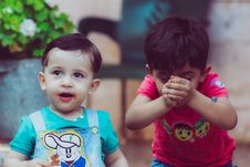 Free Photo Of Toddlers Playing Stock Photo - 131423000