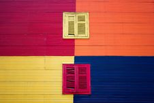 Free Red And Yellow Windows Royalty Free Stock Photos - 131423128