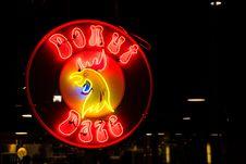 Free Donut Daze Neon Signage Stock Photos - 131518703