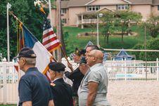 Free Men Standing Near Flags Stock Photo - 131613550