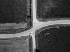Free Aerial Photography Of Car On Road Royalty Free Stock Image - 131613636