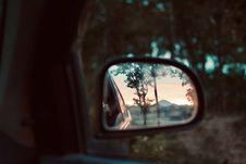 Free Shallow Depth Photo Of Black Side Mirror Stock Photography - 131613642