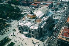 Free Bird S Eye View Photography Of Dome Building Royalty Free Stock Image - 131613706