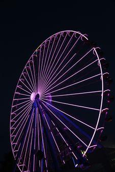 Free Ferris Wheel, Tourist Attraction, Purple, Light Royalty Free Stock Photos - 131670808