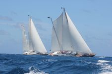 Free Sail, Schooner, Sailboat, Water Transportation Royalty Free Stock Image - 131684076