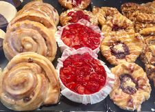 Free Baked Goods, Food, Danish Pastry, Dessert Royalty Free Stock Photos - 131684178