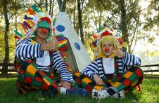 Free Clown, Performing Arts, Grass, Product Stock Photography - 131684212