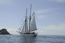 Free Sailing Ship, Tall Ship, Schooner, Brigantine Royalty Free Stock Photo - 131684555