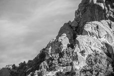 Free Grayscale Photography Of Rock Formation Stock Photos - 131719513