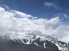 Free Nature Photography Of Snow Capped Mountain Royalty Free Stock Image - 131719716
