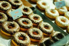 Free Close-Up Photo Of Chocolate Doughnuts Stock Photo - 131719830