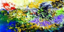 Free Photo Of Abstract Painting Stock Images - 131719834