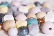 Free Assorted Pastel Color Beads Stock Photo - 131719880