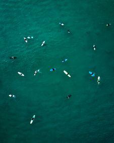 Free Aerial View Of Kayaks Stock Photo - 131719990