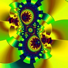 Free Yellow, Sunflower, Fractal Art, Flower Royalty Free Stock Photography - 131753967