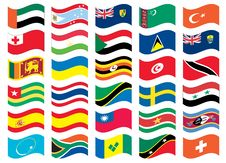 Free National Flag Part Of A Full Set Royalty Free Stock Image - 13182476