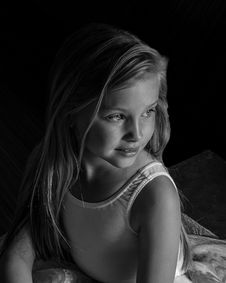 Free Grayscale Photo Of Girl Wearing Leotard Stock Photo - 131860000