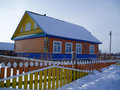 Free House In A Snow Stock Image - 1320071