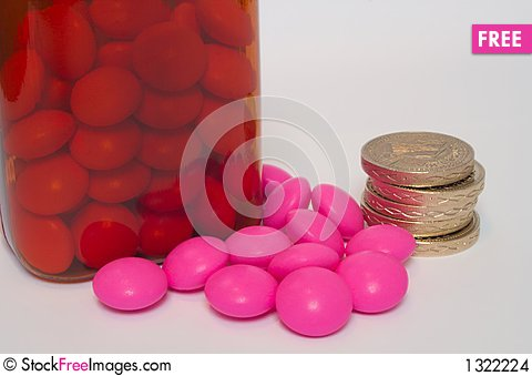 Free Cost Of Medication Stock Images - 1322224