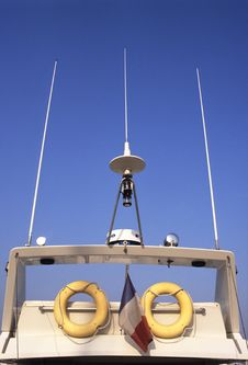 Free Boat Radar Royalty Free Stock Photography - 1320567