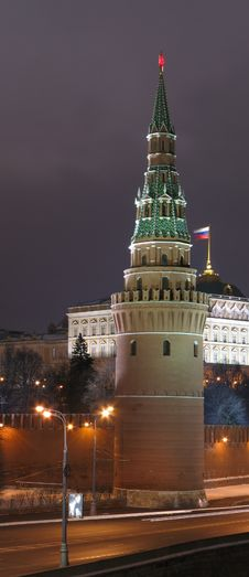 Free A Tower Of Moscow Kremlin Stock Photos - 1320833