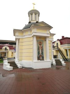 St.Philip Church In Moscow 2 Stock Photo