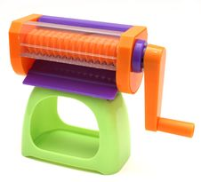 Free Colorful Crank Toy Royalty Free Stock Photos - 1321428
