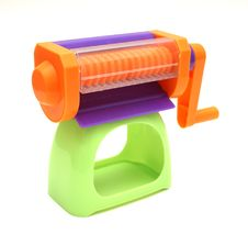 Free Colorful Crank Toy Royalty Free Stock Image - 1321436