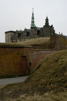 Free Kronborg Castle Royalty Free Stock Photos - 1321568