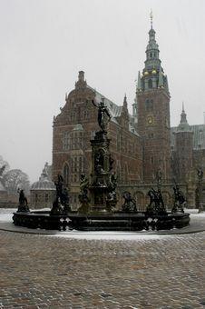 Free Castle Of Christiansborg Royalty Free Stock Photo - 1322115