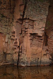 Free Split Rock River Royalty Free Stock Photo - 1322175