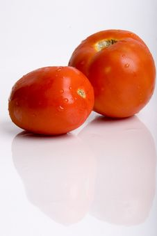 Tomato 2 Of Them Royalty Free Stock Photo