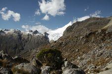 Free Cordilleras Mountain_1 Royalty Free Stock Image - 1323606