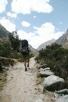 Free Hiking In The Cordillera Mountain Stock Photos - 1323633