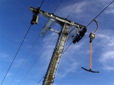 Free Ski Lift Stock Photography - 1324392