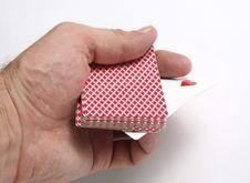 Free Playing Cards Tricks Focuses Stock Photos - 1328133