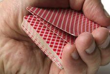 Free Playing Cards Tricks Focuses Stock Photos - 1328163