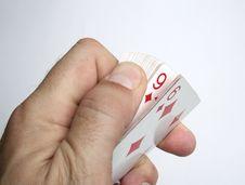 Free Playing Cards Tricks Focuses Stock Photos - 1328423
