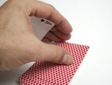 Free Playing Cards Tricks Focuses Royalty Free Stock Images - 1328619