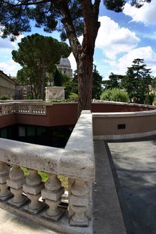 Free Vatican Gardens Structure Stock Photo - 1329180