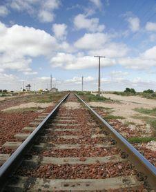 Train Tracks Australia Royalty Free Stock Photography