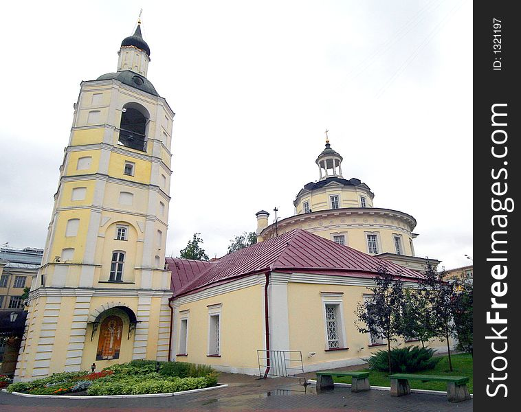St.Philip Church in Moscow 3