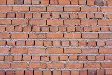 Free Old Damaged Brick Wall Stock Photos - 13200463