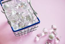 Free Close-Up Photo Of Diamonds On Basket Royalty Free Stock Photos - 132036678