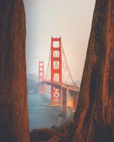 Free Golden Gate Bridge, San Francisco Royalty Free Stock Photo - 132036705