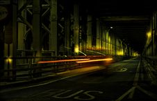 Free Long Exposure Photo Of Car On Road Royalty Free Stock Images - 132036969
