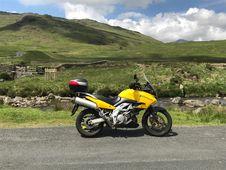 Free Motorcycle, Motorcycling, Mountainous Landforms, Motor Vehicle Royalty Free Stock Image - 132087956